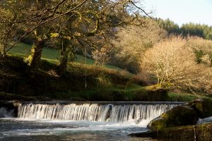 Tavy Weir by parallel-pam