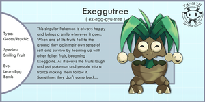 Evolution of Exeggutor by Twime777