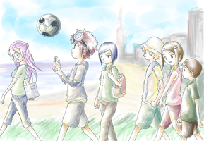 Digimon Adventure 02 by scissormetimbers