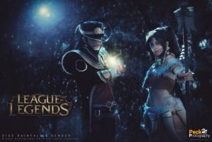 The Twisted Treeline: Twisted Fate and Nidalee by DidsRainfall