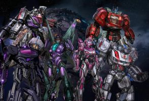 War for Cybertron Wallpaper by Omega-Charge