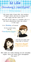 SJ Life : Shindong's Hairstyles! by Lanaleiss