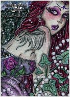 ACEO :: Poisoned Angel by Fanhir