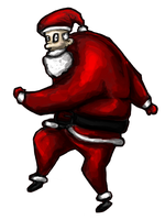 Santa for common room by xabian
