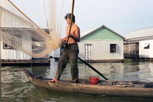 Cham Fisherman In Viet Nam by vanfoto