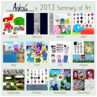 Art Summary 2013 by Anko6