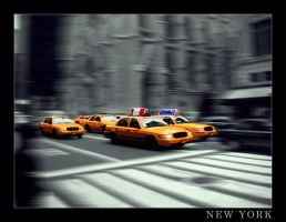 New York : Taxi view by McTwist