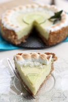 Coconut lime pie piece by kupenska