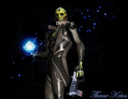 Thane Krios by maqeurious