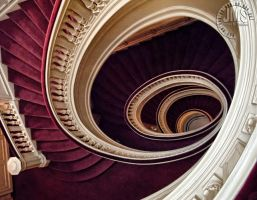 De Lamar House Stairs by steeber