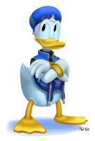 All Hearts - Donald Duck by LynxGriffin
