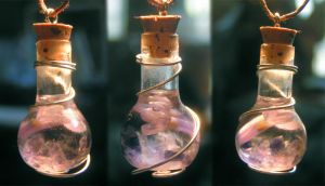 Magic Vial - Spirit II by Izile