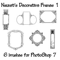 Naunet's Decorative Frames 1 by sknaunet