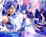 Aqua from Kingdom Hearts wallpaper by ladylucienne