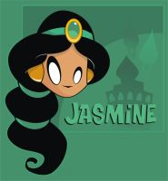 Heads Up Princess Jasmine by HeadsUpStudios