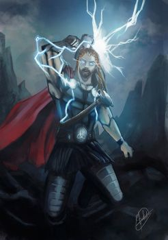 Thor - The Thunder God by Binho01
