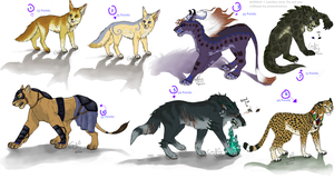 Adoptables because I can by LeoNoy