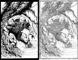 JasonFabok SwampThing-Nix Inks by SkeetNix