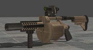Re6 Grenade Launcher by zeushk