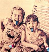 blue tongues by TobyBML
