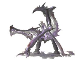 Concept Art: Cayanid Adult by SpiderPrince