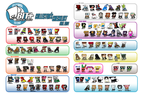 BIT+ Checklist Fall 2014 by IdeatoPaperStudios