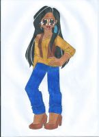 Contest: Disney High - Pocahontas by animequeen20012003