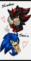 -Sonic Shadow- by LeonS-7