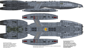 UED Earth Battlestar Apache by XRaiderV1