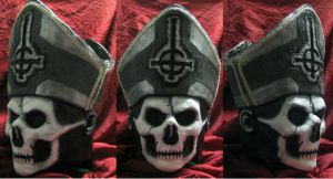 The Official GHOST Papa Emeritus II Secular Haze by atomagedevilman