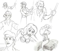 LM screenshot sketches by AsjJohnson