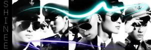 SHINee banner (assessment piece) by Xinahs