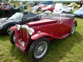 1946 MG TC two door classic British sports car by Xzavier-JP