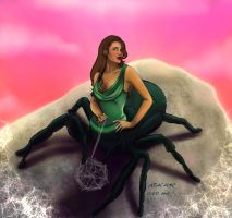 Arachne by papermuse