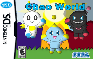 Chao World DS Box Artwork by PPG-Katelyn