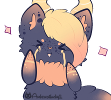 Squish Face Commission - Zoeygirl9000 by Ambercatlucky2