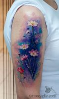 watercolors by tattoozone