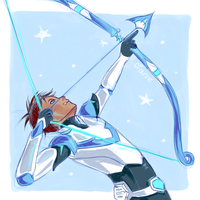 aim true, lance by Truebladed