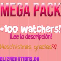 +MEGA PACK +100 WATCHERS by ElizaEdiitions