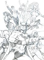 Justice League 2010 sketch by guinnessyde