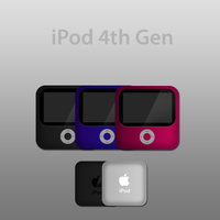 iPod 4th Gen by CASHMichi