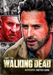 The Walking Dead Artist Proof Sketch Card by J-Redd