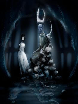 Hades and Persephone by celtic-ronin