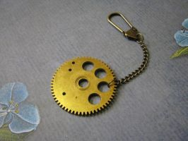 Steampunk Lg Grandfather gear by bcainspirations