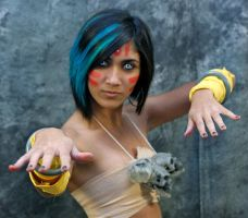 Female Dhalsim by paradise-cosplay