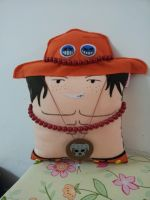 Handmade Anime One Piece Portgas D. Ace Pillow by RbitencourtUSA