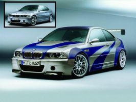 BMW M3 GTR by krash51491