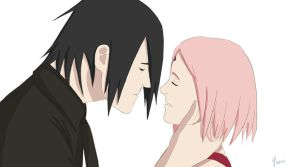 SasuSaku Animated kiss by bhavna-madan