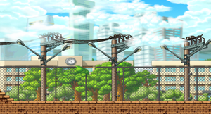Maplestory Background - Street Fighters by dor8885