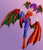 Lilith Darkstalkers by TOMO2012